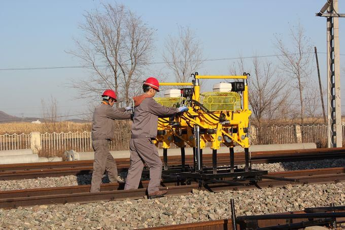 Rail Tamping Machine For Railway